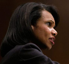 S secretary of state Condoleezza Rice. Photograph: Alex Wong/Getty Images