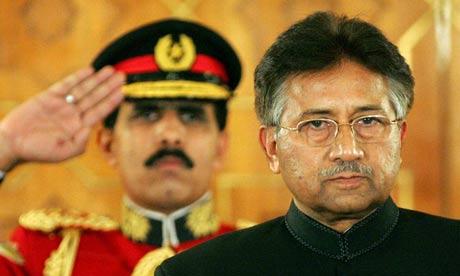 Pakistan president Pervez Musharraf