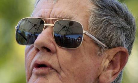 Bob Irwin, father of crocodile hunter Steve Irwin, who died in 2006
