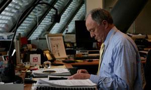 Ken Livingstone in his London office