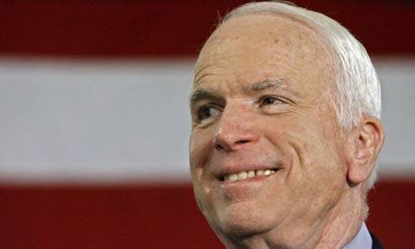 John McCain speaks to supporters in Waco, Texas