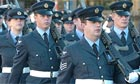 Airmen and women at RAF Wittering have been ordered not to wear their uniforms in public after incidents of verbal abuse