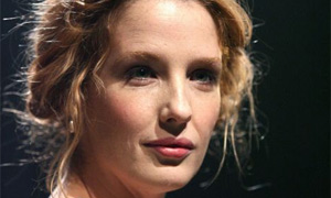 """Kelly Reilly (Desdemona) in """"Othello"""" at Donmar Warehouse"""