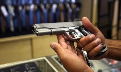 Gun Gallery shop, California