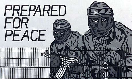 A Loyalist Mural in North Belfast