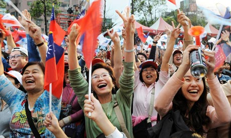 Pro-China candidate wins TAIWAN ELECTION | World news | guardian.