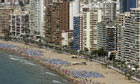 Benidorm on Spain's Costa del Sol