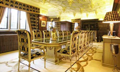 Phil Neville's dining room