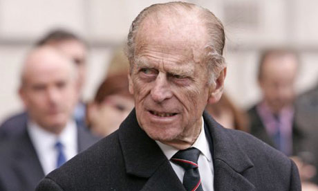 Prince Philip on walk about