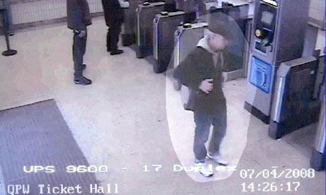 CCTV image of Mark Speight