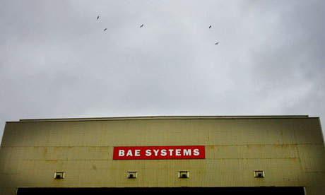 BAE Systems construction hall in Barrow-in-Furness