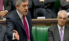 Gordon Brown during Prime Ministers Questions