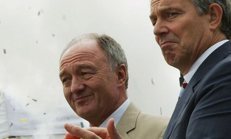 Ken Livingstone and Tony Blair