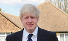 Boris Johnson campaigns in the London  suburbs