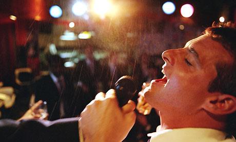 Karaoke. Photograph: Sean Murphy/Getty Images