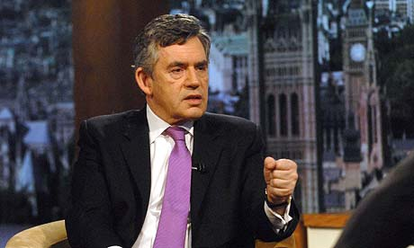 Gordon Brown appears on the Andrew Marr Show