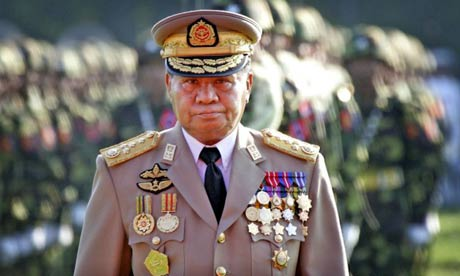 Myanmar ruler Senior General Than Shwe