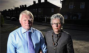 BNP councillors Alby and Ellie Walker in Stoke-on-Trent