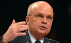 CIA director Michael Hayden. Photograph: Kevin Wolf/AP