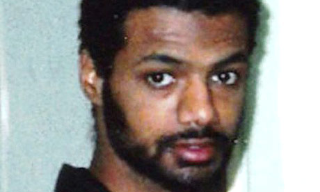 Binyam Mohamed, a UK resident held in Guantánamo Bay.
