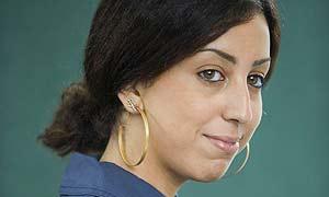 French Algerian author Faiza Guene at the Edinburgh International Book Festival