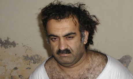 Khalid Sheikh Mohammed, the alleged 9/11 mastermind.