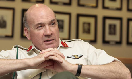 Chief of the General Staff, General Sir Richard Dannatt