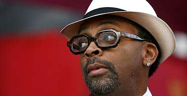 Director Spike Lee at the Oscars in Hollywood in February