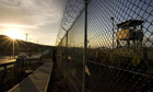 Camp Delta detention compound at Guantanamo Bay
