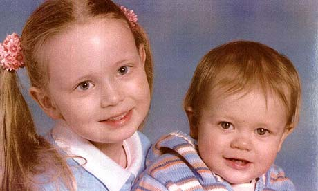 Amy Philcox, 7, and her brother Owen, 3, who were found dead with their father Brian Philcox in a car