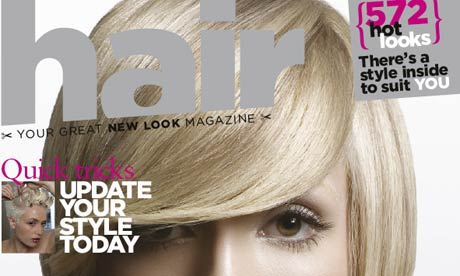 hairstyling magazines. Hair magazine