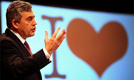 Prime Minister Gordon Brown at Unison conference