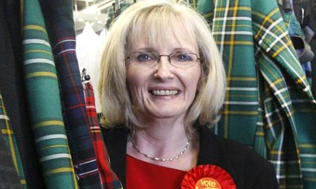 Labour Glasgow East by-election candidate, Margaret Curran