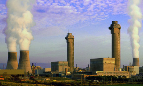 Sellafield nuclear power station, Cumbria