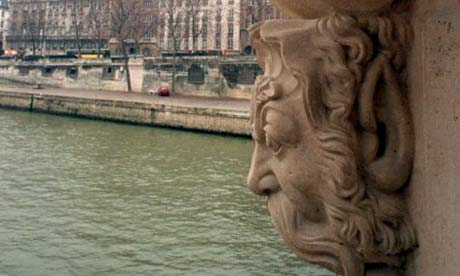 View of the Seine from the Pont Neuf bridge