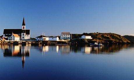 Canada, Newfoundland, Trinity Bay