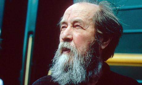 Alexander Solzhenitsyn in central Siberia, Russia, 1994