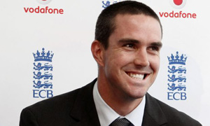 New England cricket captain Kevin Pietersen