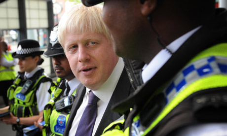 Mayor Boris Johnson meets British Transport Police Neighbourhood Policing Teams