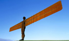 The Angel of the North sculpture by Antony Gormley