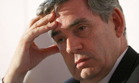 British PM Gordon Brown