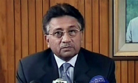 Pervez Musharraf announces his resignation