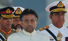 Musharraf attends a Pakistan Day military parade