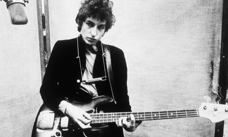 Bob Dylan's electric guitar sells for world record