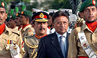 Pakistan president inspecting guard of honour