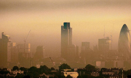 Up to 320,000 people in London are already exposed to nitrogen dioxide levels above EU limits