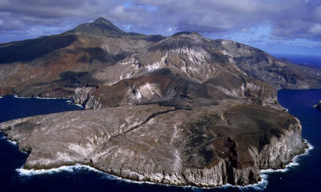 Ascension Island, in the South Atlantic Ocean