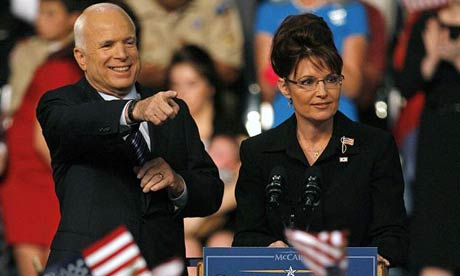 John McCain and Sarah Palin