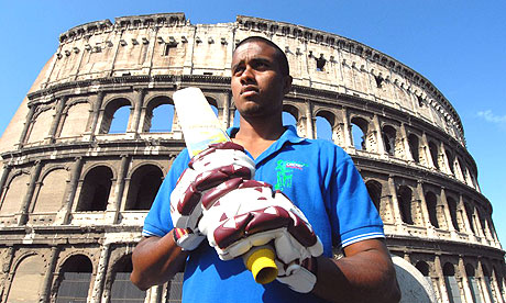Sri Lankan immigrant who plays for the Italian national cricket team ...