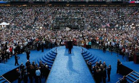 al gore, democratic convention, crowd